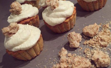 Dýňovo-kokosové cupcakes